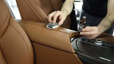 Terms of care for leather car interior