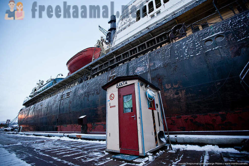 Russian nuclear icebreakers