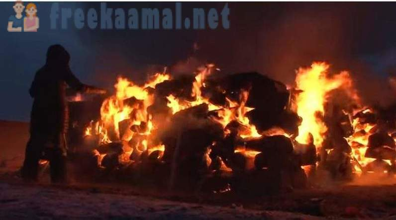 Buryat shamans burned five camels to strengthen Russia