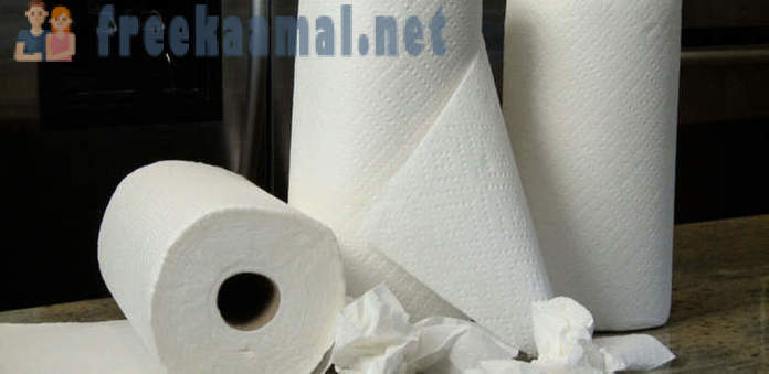 Non-standard methods of using a paper towel