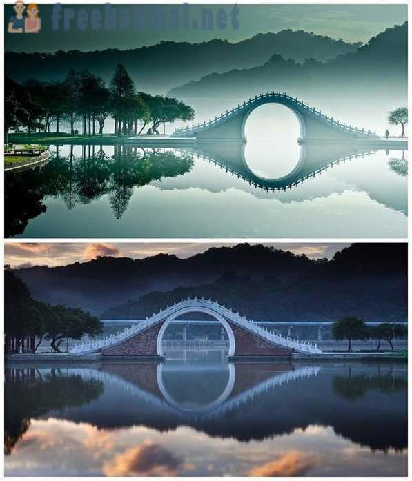 Fantastically beautiful arched bridges of the world