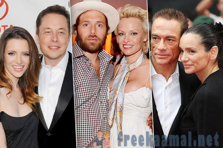 Celebrities, who married a man twice