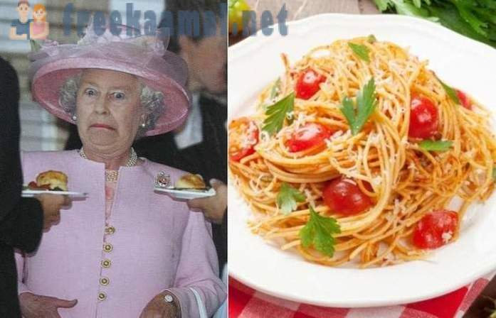 What kind of products do not have to Elizabeth II menu