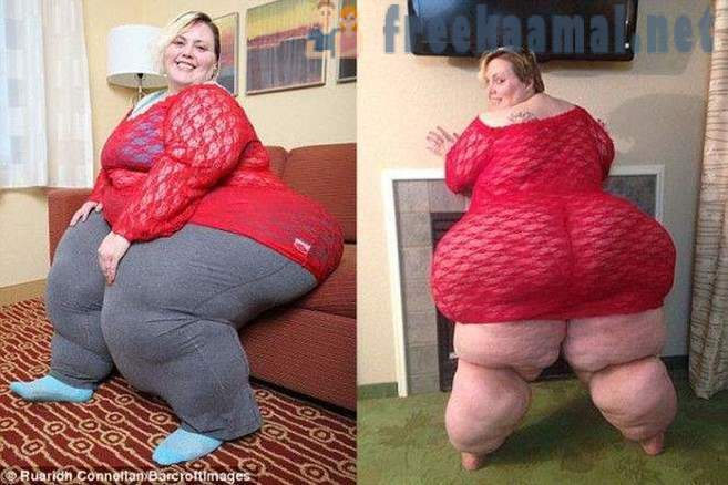 490lb woman says men from England love her because of