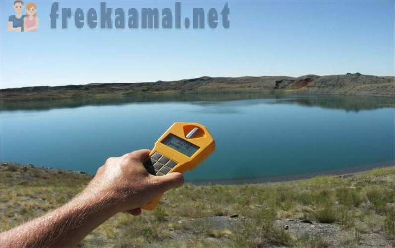 Radioactive lake in the world