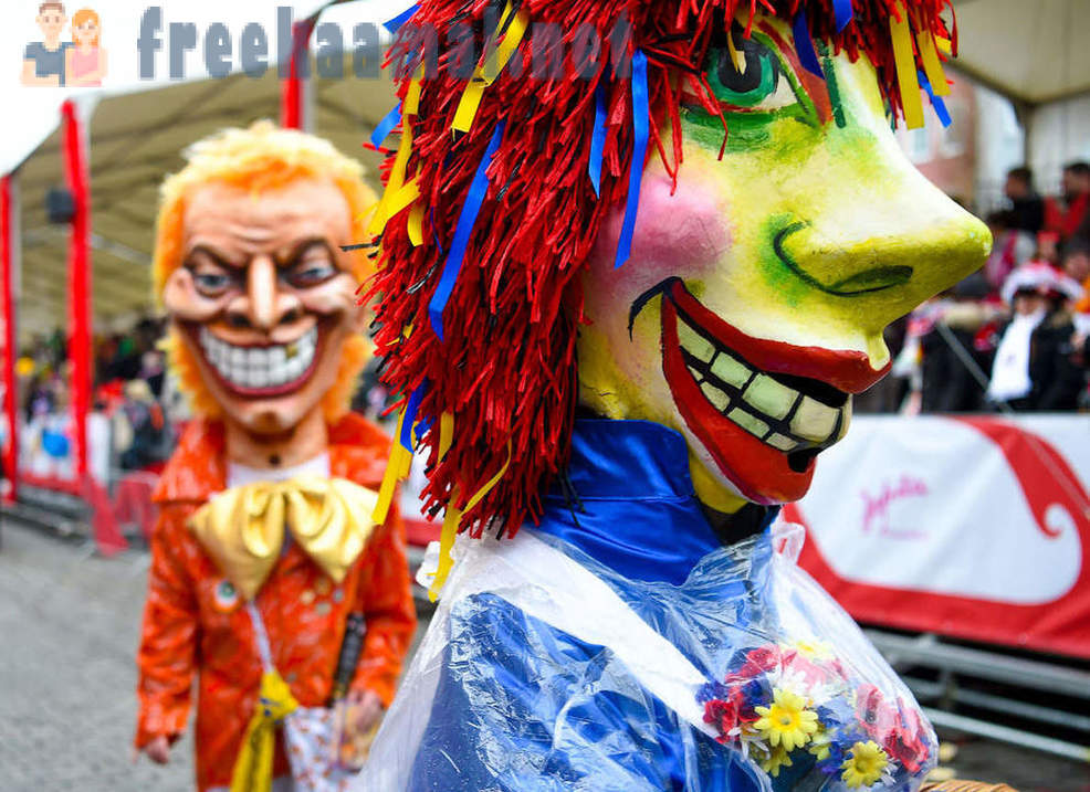 Colorful carnivals and parades in 2018