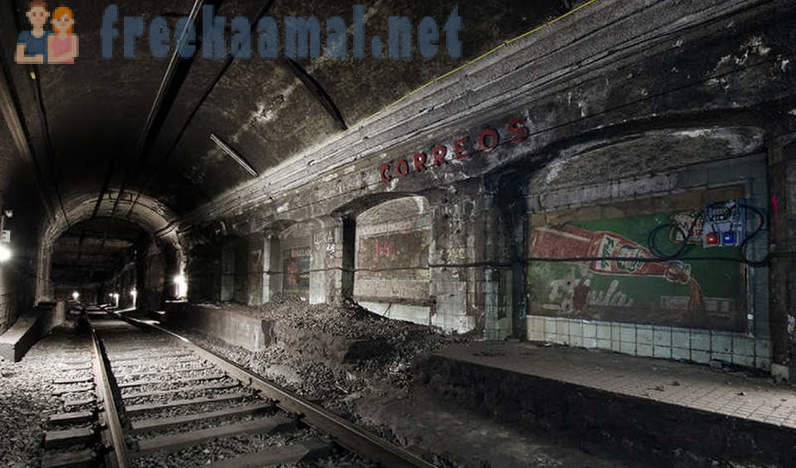 Stations ghost in the underground world