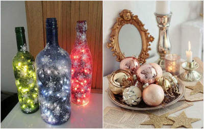 Creative Christmas home decorations