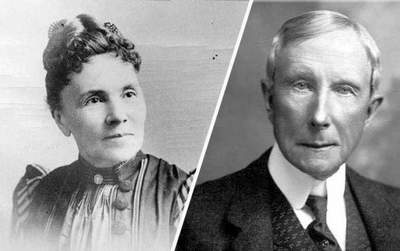 John and Laura Rockefeller: a love story