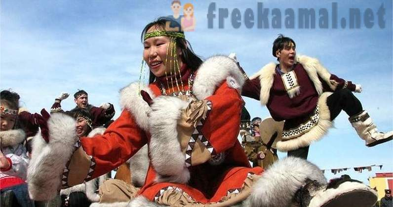 Strange system of marriage and family relations Chukchi