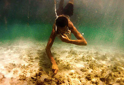 Curious about the profession of pearl divers