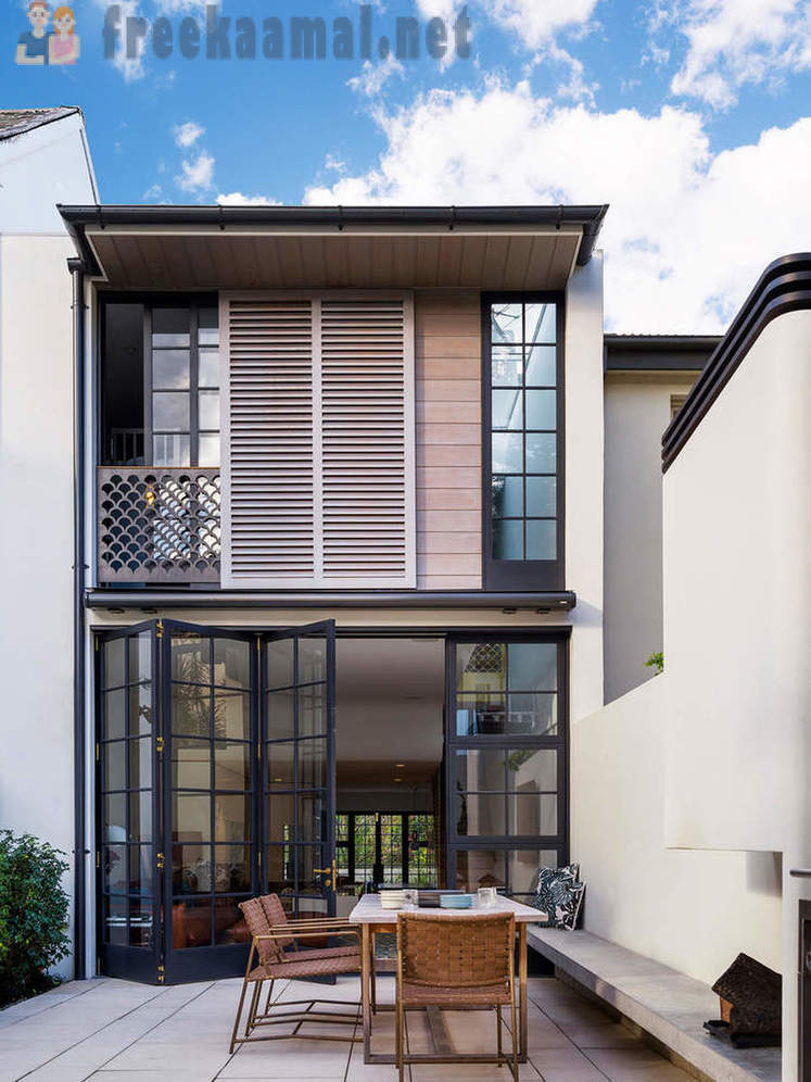 Design and interior townhouse in Sydney