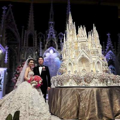 Incredible wedding cakes by the family confectionery Le Novelle Cake