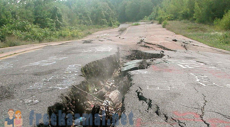 Centralia - the first branch of hell on Earth