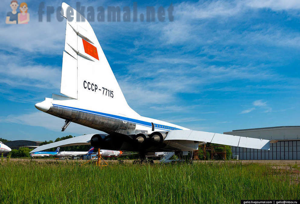 Planes legend Tupolev: war and peace