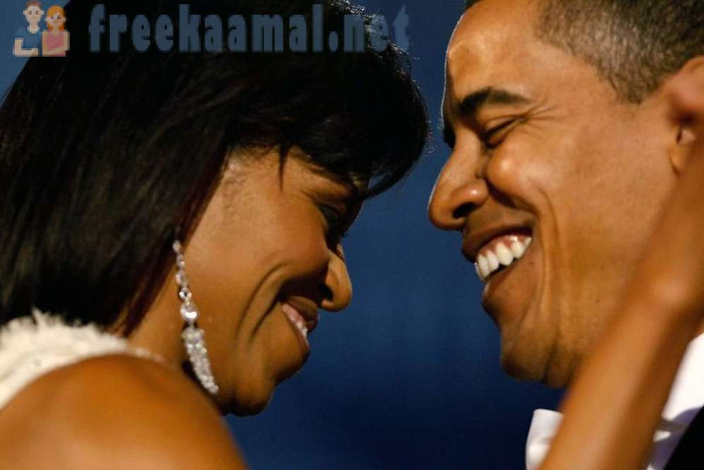 From what Obama is crying: Love Story of Barack and Michelle
