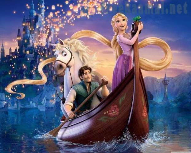 12 Disney fairy tales, which are based not children's stories