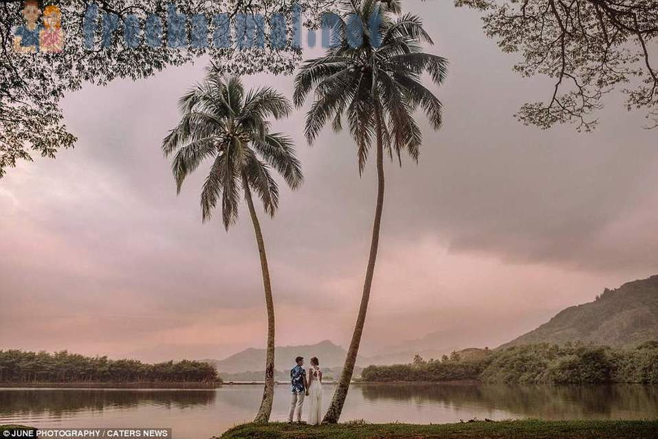 Named the most romantic wedding destinations photoshoots 2016 year