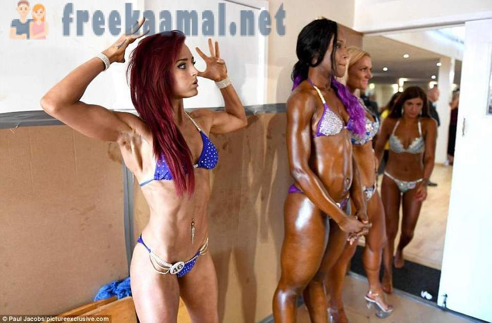 What is happening behind the scenes of the championship on bodybuilding