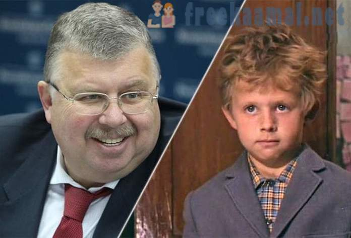 Russian politicians, who as a child had been successful film actor