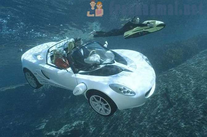9 futuristic vehicles, the existence of which you never knew existed