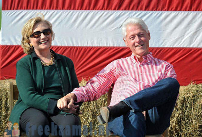 Bill and Hillary Clinton: 40 years of married life