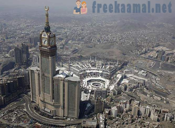 Mecca from a height