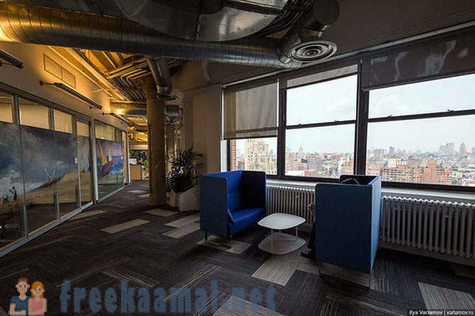 Google office in New York: a dream job