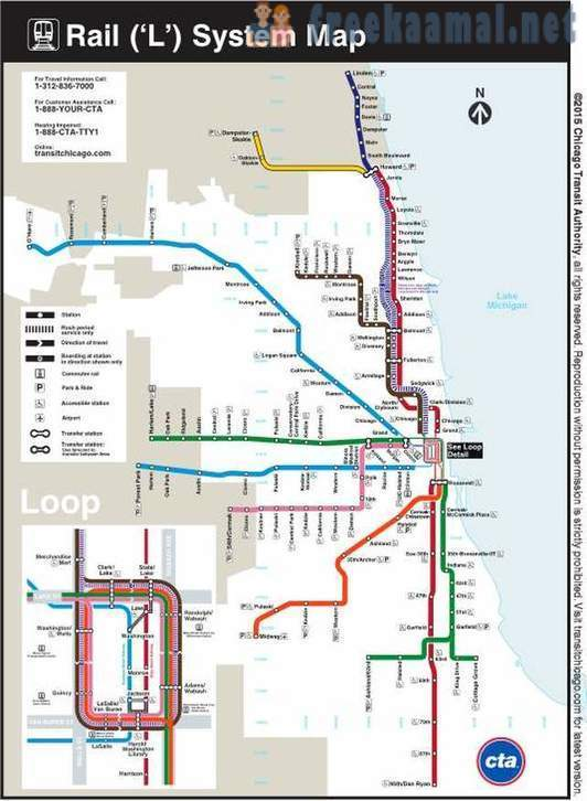 Transport in the Greater Chicago