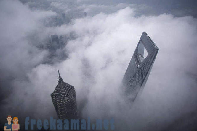 The city in the clouds