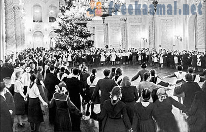 How to celebrate New Year in 1950