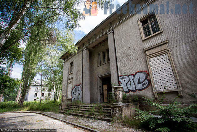 Abandoned Soviet military town near Berlin