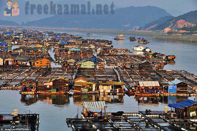Incredible floating cities of China