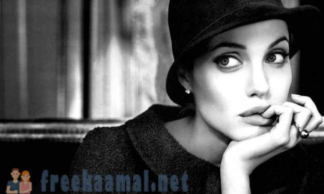 Fasting love for Angelina Jolie