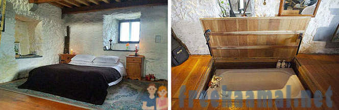 The most unusual apartment