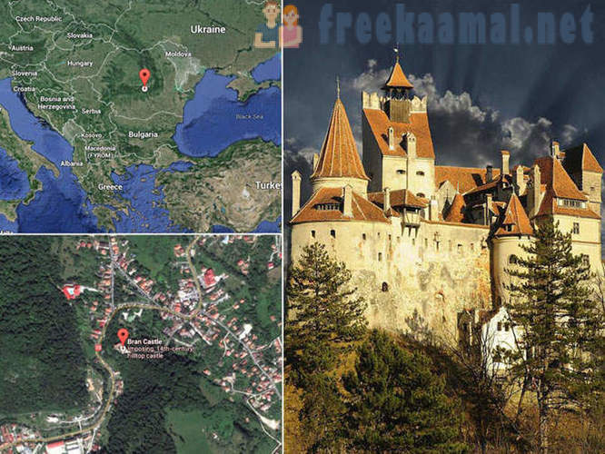 Tour of the famous castle of Dracula