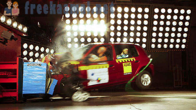 How are the car crash tests