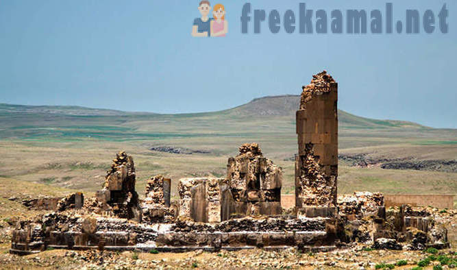 Ancient ghost town of Ani
