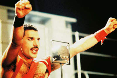 Bright photo moments in the life of Freddie Mercury