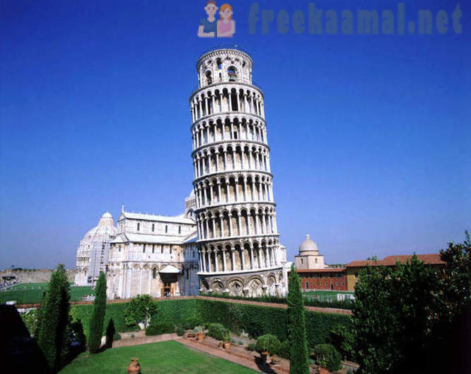 10 most famous falling towers