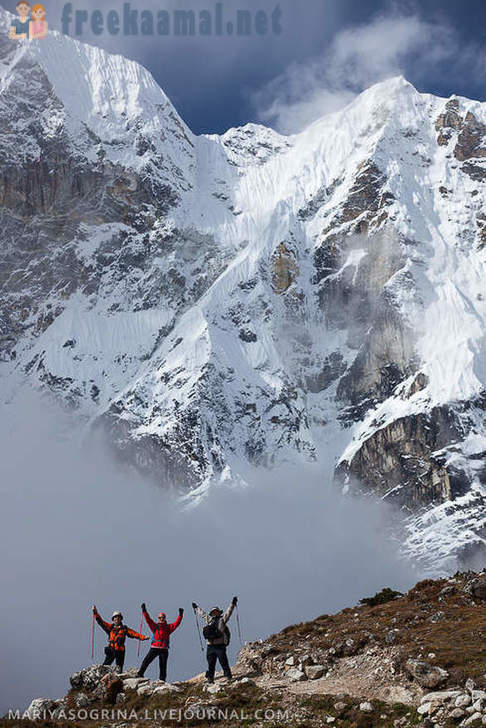 Everest track (part 2)