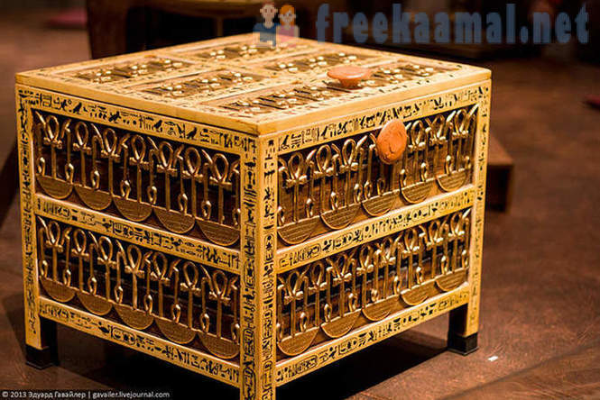 Treasures of Tutankhamun's tomb