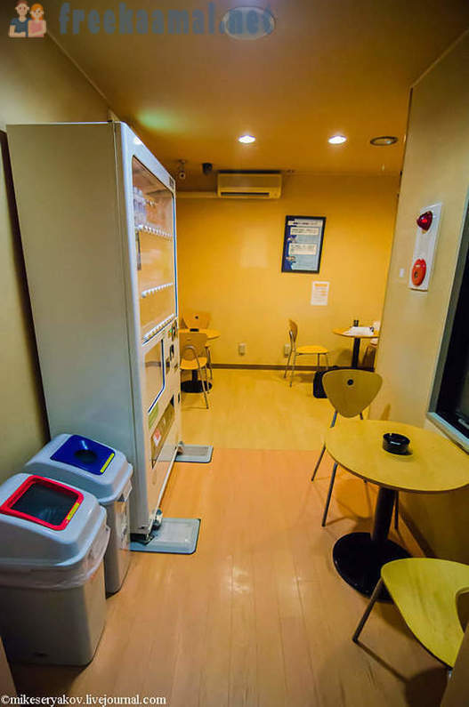 How are the Japanese capsule hotels