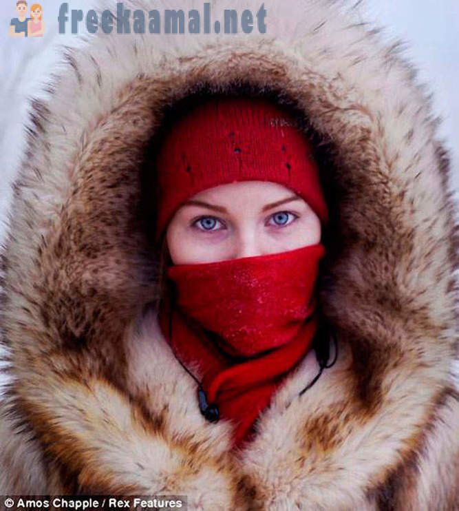 The village of Oymyakon - the coldest city in the world