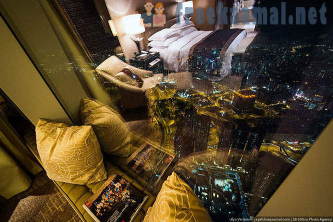 The highest hotel in the world