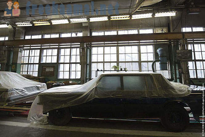 Limousine for the president of Russia