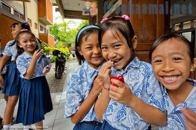 Positive school in Indonesia
