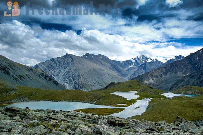 It looks like a paradise - at the foot of Belukha in Altai