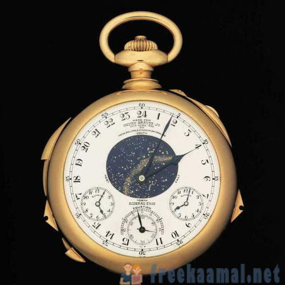 11 most expensive watches sold at auction