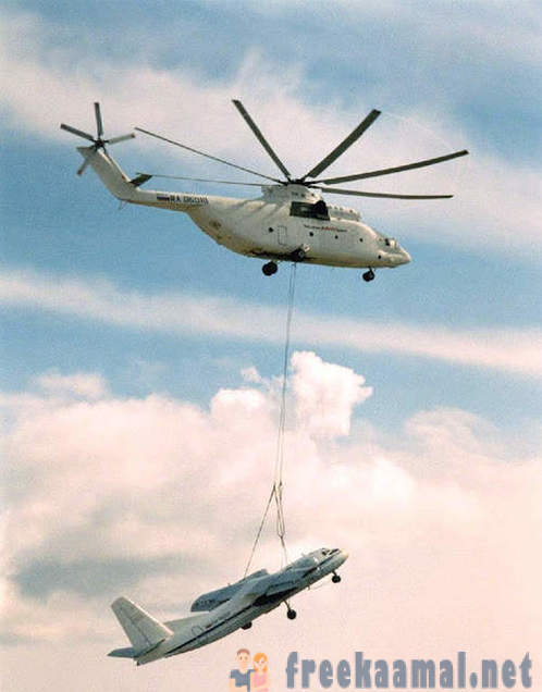 Russian military helicopters